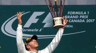 F1: Νικητής στον Καναδά ο Λιούις Χάμιλτον