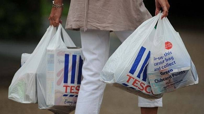Τέλος στις δωρεάν πλαστικές σακούλες από τα σουπερ μάρκετ
