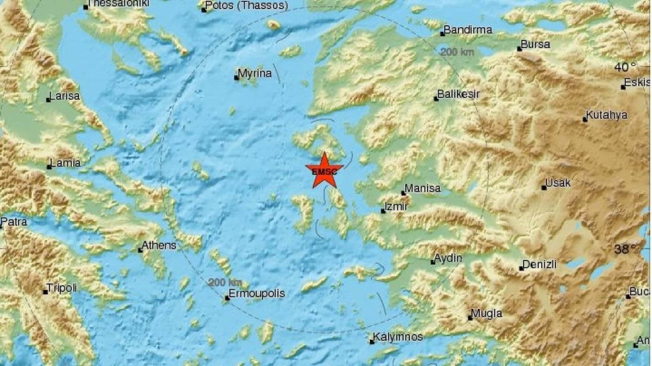 Αισθητός και στην Τουρκία ο ισχυρός σεισμός στο βόρειο Αιγαίο