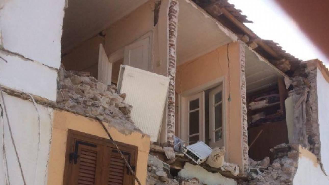 Σεισμός Μυτιλήνη: «Βομβαρδισμένο» τοπίο η Βρίσα, σκέψεις για εκκένωση του χωριού