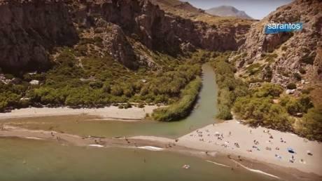 Πρέβελη: Ένας επίγειος παράδεισος από ψηλά (Vid)