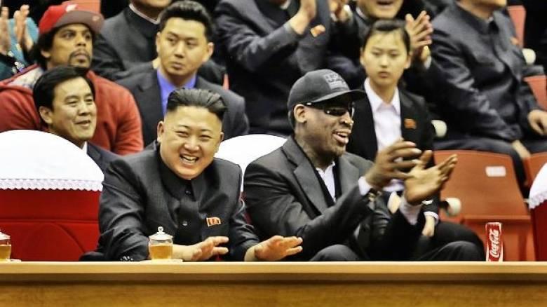 Νέα επίσκεψη του Ντένις Ρόντμαν στη Βόρεια Κορέα (pics)