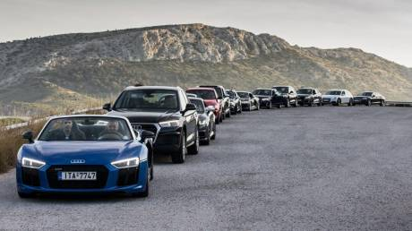 Audi on Tour: Κορυφαία μοντέλα της γερμανικής εταιρείας ταξιδεύουν σε 12 πόλεις της Ελλάδας
