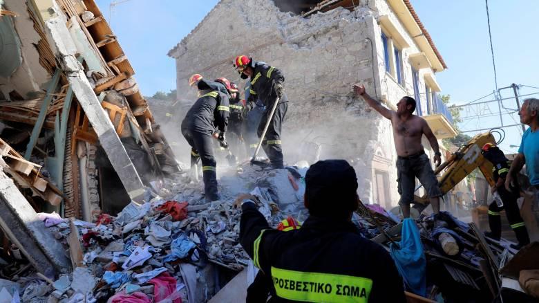 Συγκλονιστικά βίντεο από τον σεισμό που έπληξε την Μυτιλήνη