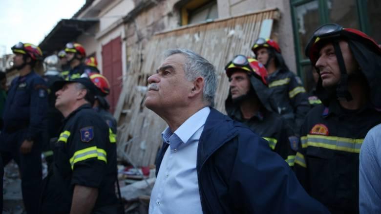 Σεισμός Μυτιλήνη: Σύσκεψη για την αντιμετώπιση των προβλημάτων