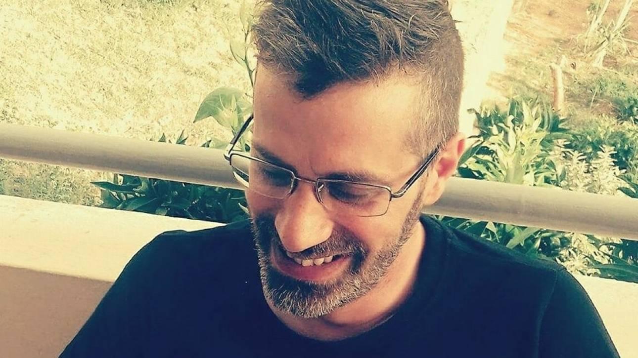 Πέθανε σε ηλικία 42 ετών ο δημοσιογράφος Κώστας Εφήμερος