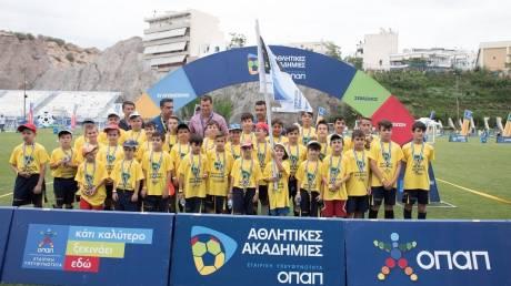 Φεστιβάλ Αθλητικών Ακαδημιών ΟΠΑΠ: Δυναμικό παρών από 9.000 παιδιά