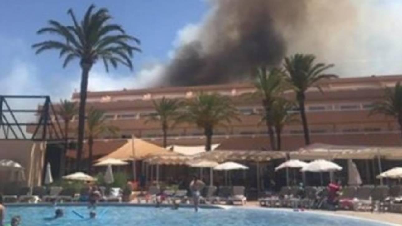 Μεγάλη πυρκαγιά στην Ίμπιζα - εκκενώνονται ξενοδοχεία (pics&vid)