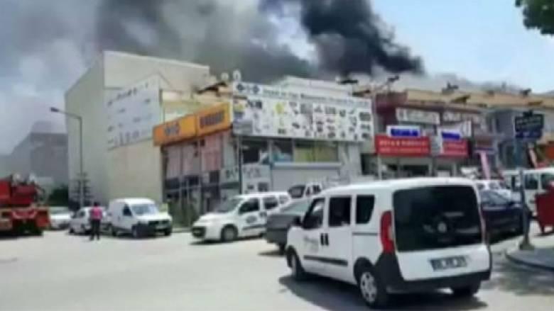 Ισχυρή έκρηξη στην Άγκυρα με δύο νεκρούς