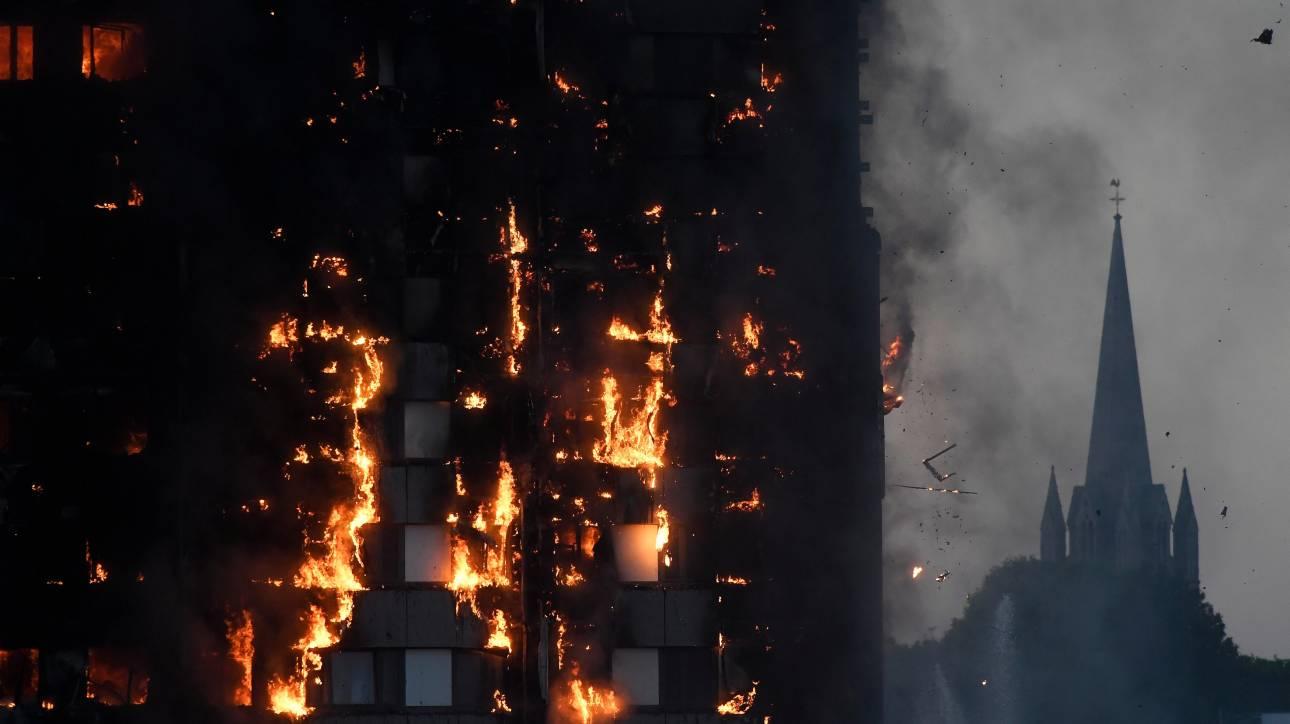 Λονδίνο: Στους 12 οι νεκροί του πύρινου εφιάλτη - Κανένας επιζών στους τελευταίους ορόφους