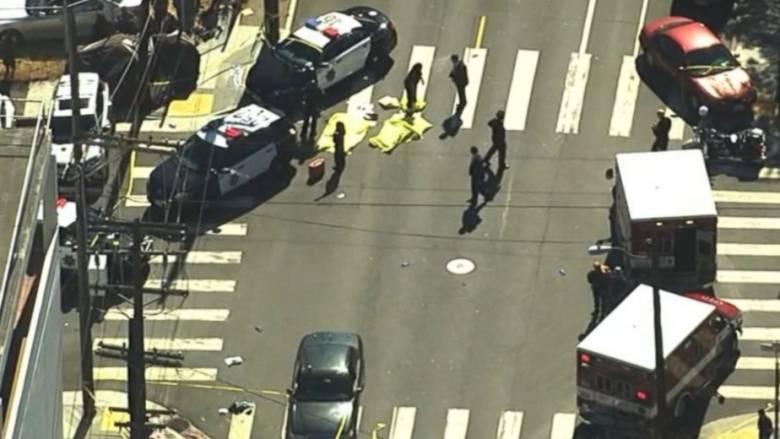 Πυροβολισμοί με νεκρούς στο Σαν Φρανσίσκο (pics&vid)
