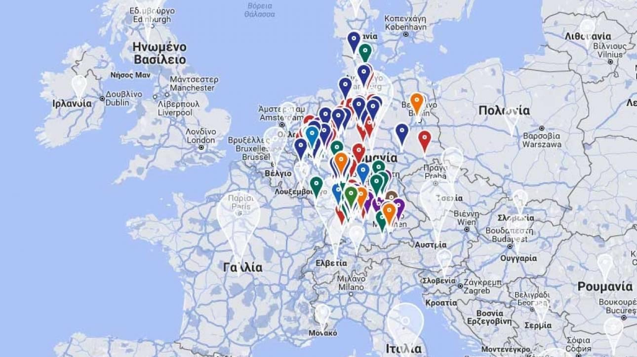 Παρουσιάστηκε ο ψηφιακός χάρτης για την ελληνική διασπορά