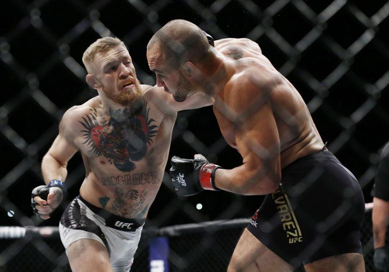 2016 11 13T065320Z 1687226393 NOCID RTRMADP 3 MMA UFC 205 MCGREGOR VS ALVAREZ