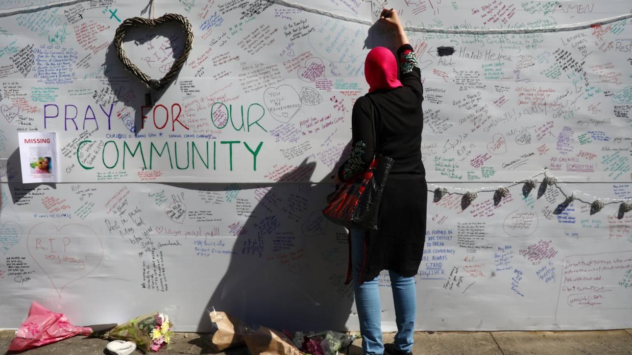 Λονδίνο: Καμιά ελπίδα για επιζώντες στις στάχτες του Γκρένφελ Τάουερ