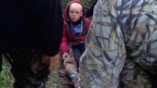Εντοπίστηκε ζωντανός ο 4χρονος Dima: Έτρωγε χόρτα και έπινε βρώμικο νερό για να επιβιώσει (Vid)