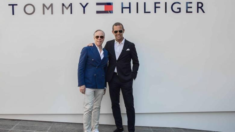 Ο Tommy Hilfiger παρουσίασε τη Hilfiger Edition συλλογή για την Άνοιξη του 2018 στην Pitti Immagine