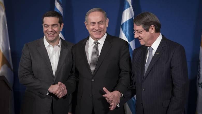 Τριμερής Ελλάδα-Ισραήλ-Κύπρος: Συνεργασία για την ειρήνη και την ασφάλεια της περιοχής