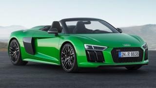 Το νέο κορυφαίο ανοιχτό Audi R8 λέγεται Spyder V10 plus και έχει 610 άλογα