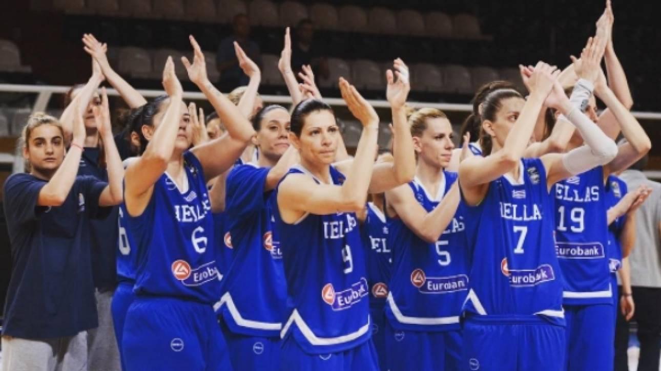 Eurobasket 2017: Πρεμιέρα με Σερβία η εθνική γυναικών