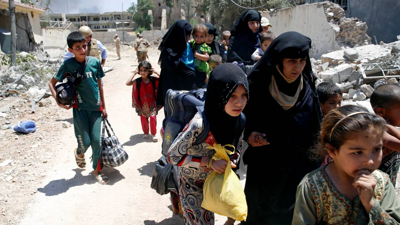 OHE: Το Ισλαμικό κράτος χρησιμοποιεί αμάχους ως ασπίδες προστασίας