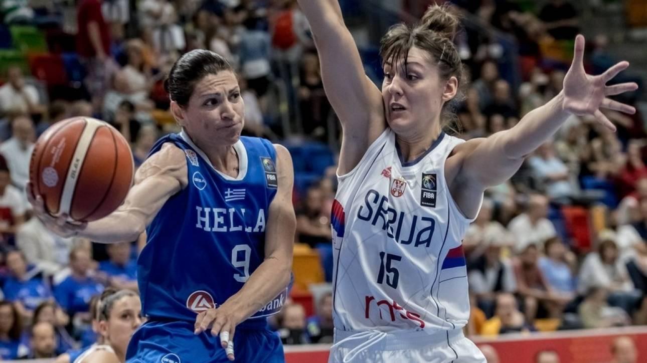 Eurobasket γυναικών 2017: Ιστορική νίκη της Ελλάδας επί της Σερβίας
