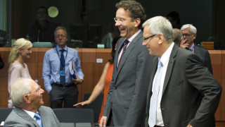 Die Linke: Ομάδα χρυσοπληρωμένων ερασιτεχνών ηθοποιών το Eurogroup