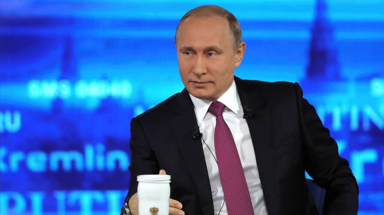 Πούτιν: Είναι νωρίς ακόμη να μιλάμε για αντίμετρα στις νέες αμερικανικές κυρώσεις