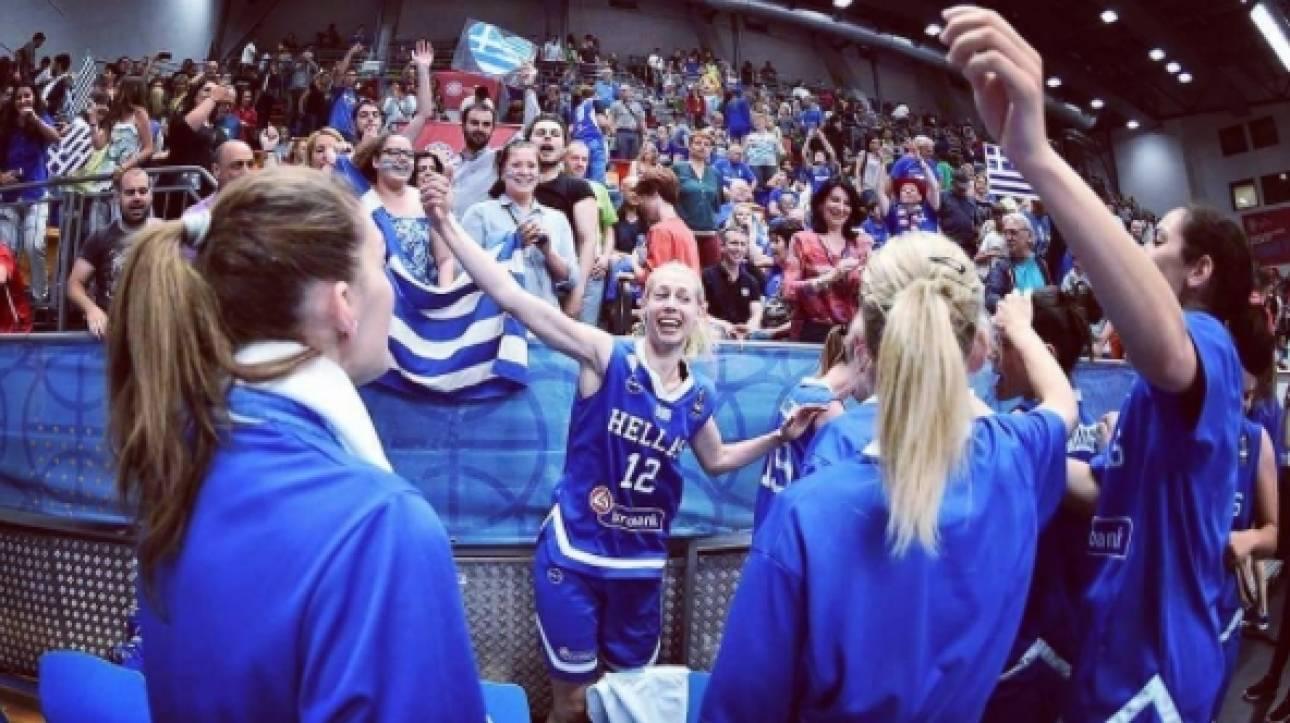 Eurobasket 2017 γυναικών: Γλέντι με Final Countdown για τη νίκη (vid)