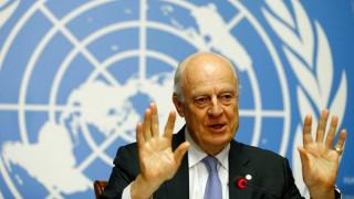 Συρία: Νέο γύρο συνομιλιών επιθυμεί ο απεσταλμένος του ΟΗΕ