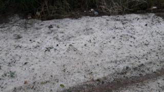 Τεράστιες καταστροφές σε φωτοβολταϊκά και θερμοκήπια στην Αργολίδα από το χαλάζι (pics)