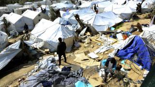Μυτιλήνη: Αποχή εργαζομένων στο Κέντρο Υποδοχής στην Μόρια