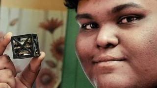 18χρονος δημιούργησε τον μικρότερο δορυφόρο του κόσμου