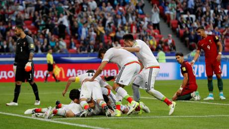 Confederations Cup 2017: Το Μεξικό «πλήγωσε» στο τέλος την Πορτογαλία