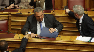 ΝΔ και ΠΑΣΟΚ βάζουν θέμα Καμμένου στη Βουλή
