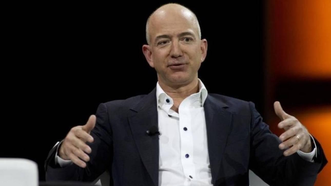 Τ. Μπέζος: Απέχει ...5 δισ. δολάρια από τον τίτλο του πλουσιότερου παγκοσμίως