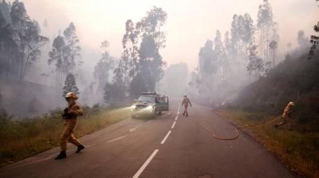 Πορτογαλία: Drone καταγράφει την ολοκληρωτική καταστροφή από την φωτιά (vid)