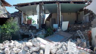 Μυτιλήνη: Το μέγεθος της καταστροφής 7 ημέρες μετά τον σεισμό, 690 κτίρια «κόκκινα»