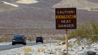 ΗΠΑ: Η θερμοκρασία της Κοιλάδας του Θανάτου σε επίπεδα ρεκόρ