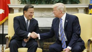 Η ατάκα του Τραμπ για τη Διώρυγα που έκανε τον Πρόεδρο του Παναμά να γελάσει (pics)