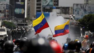 Βενεζουέλα: Νεκρός 17χρονος διαδηλωτής από σφαίρα αξιωματικού της Εθνικής Φρουράς
