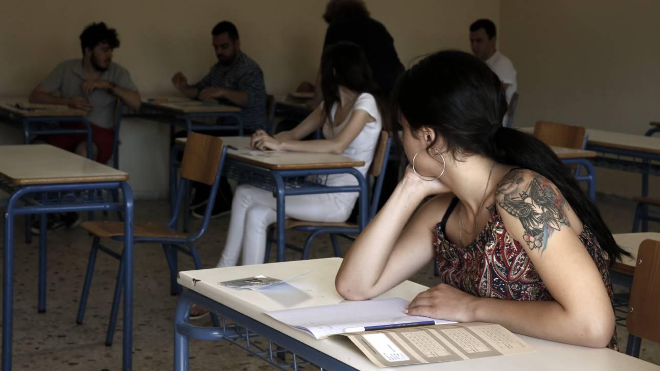 Πανελλήνιες 2017: Τα θέματα των μαθημάτων που εξετάστηκαν σήμερα οι μαθητές ΕΠΑΛ