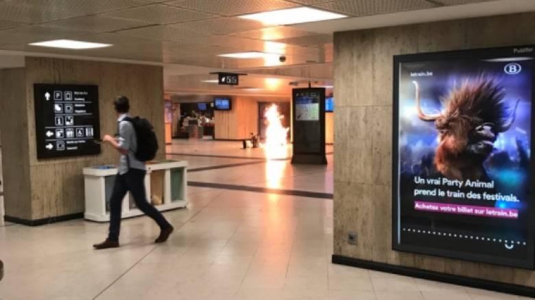 Έκρηξη σε σιδηροδρομικό σταθμό στις Βρυξέλλες (pic)