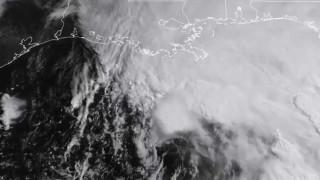 Η τροπική καταιγίδα Cindy από το Διάστημα