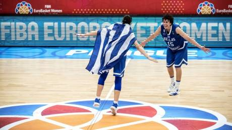"Eurobasket 2017 γυναικών: Πρόκριση στους 8 με ""τιρινίνι"" για την Ελλάδα (vid)"