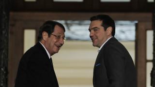 Κυπριακό και επίσκεψη Γιλντιρίμ επί τάπητος στη συνάντηση Τσίπρα-Αναστασιάδη