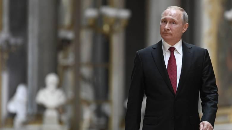 «Επιθεώρηση» Πούτιν στις εργασίες τοποθέτησης του Turkish Stream