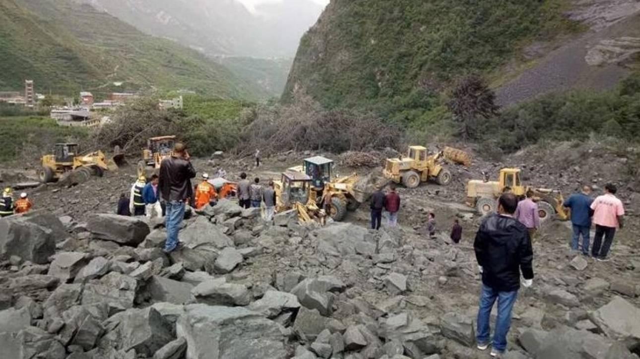 Κίνα: Πάνω από 140 ανθρώποι θαμμένοι κάτω από τόνους λάσπης λόγω κατολίσθησης