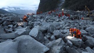 Κίνα: Αυξήθηκε ο αριθμός των νεκρών και αγνοούμενων από την κατολίσθηση