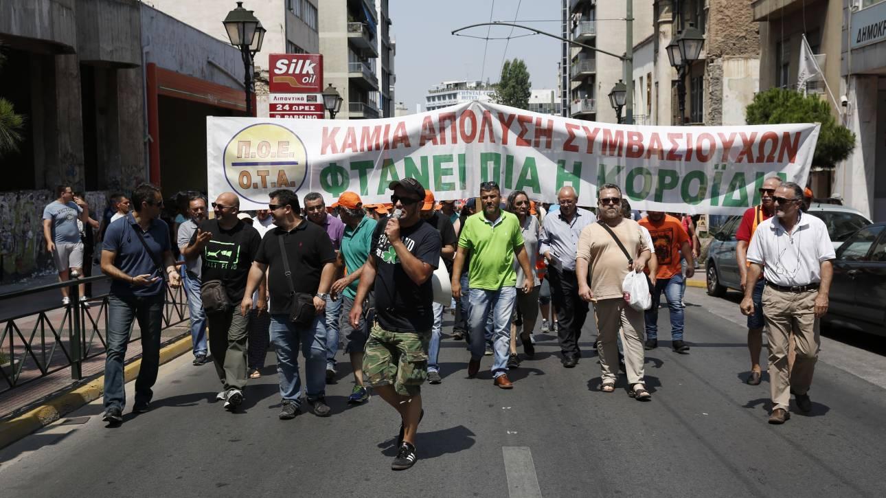 Σκουπίδια Απεργία: Δεν τα βρήκαν Σκουρλέτης - συμβασιούχοι ΠΟΕ-ΟΤΑ