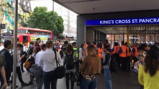 Αναστάτωση από πυρκαγιά σε σιδηροδρομικό σταθμο στο Λονδίνο (pics)